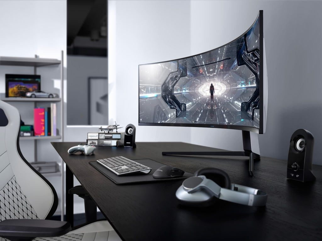 Samsung Unveils New Odyssey Gaming Monitor Line-up at CES 2020