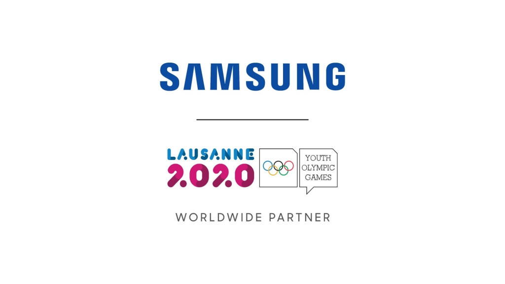 Samsung Continues its Commitment to the Olympic Movement and Young Athletes at Lausanne 2020