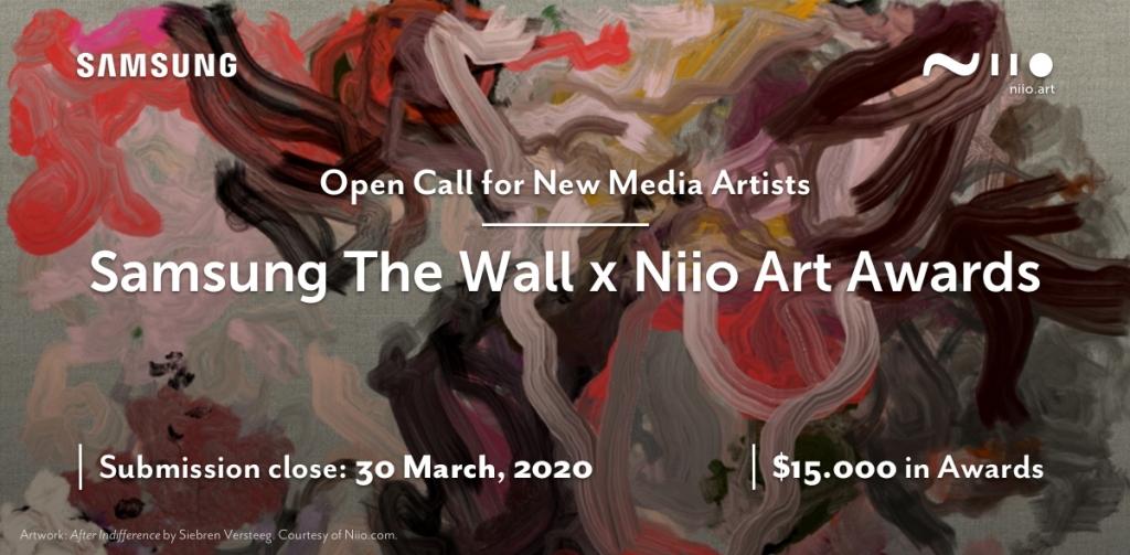 Samsung & Niio Art Launch Prestigious Global Digital Art Competition Celebrating Visual Arts on 'The Wall'