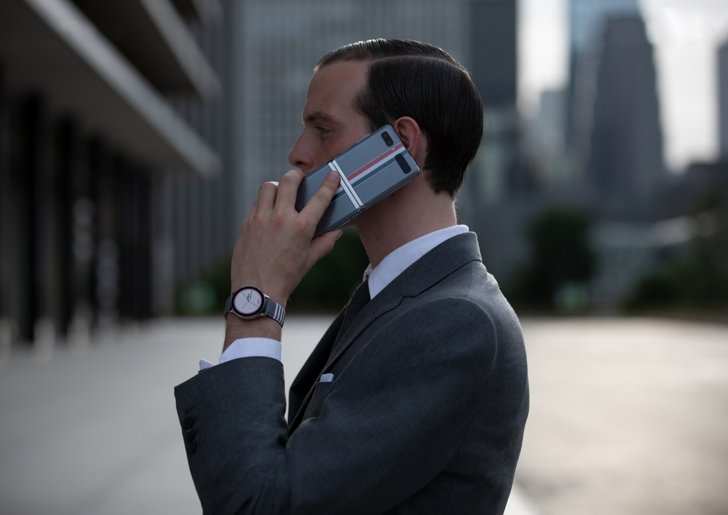 Samsung and Iconic Fashion Brand Thom Browne Collaborate on Limited Edition Galaxy Z Flip