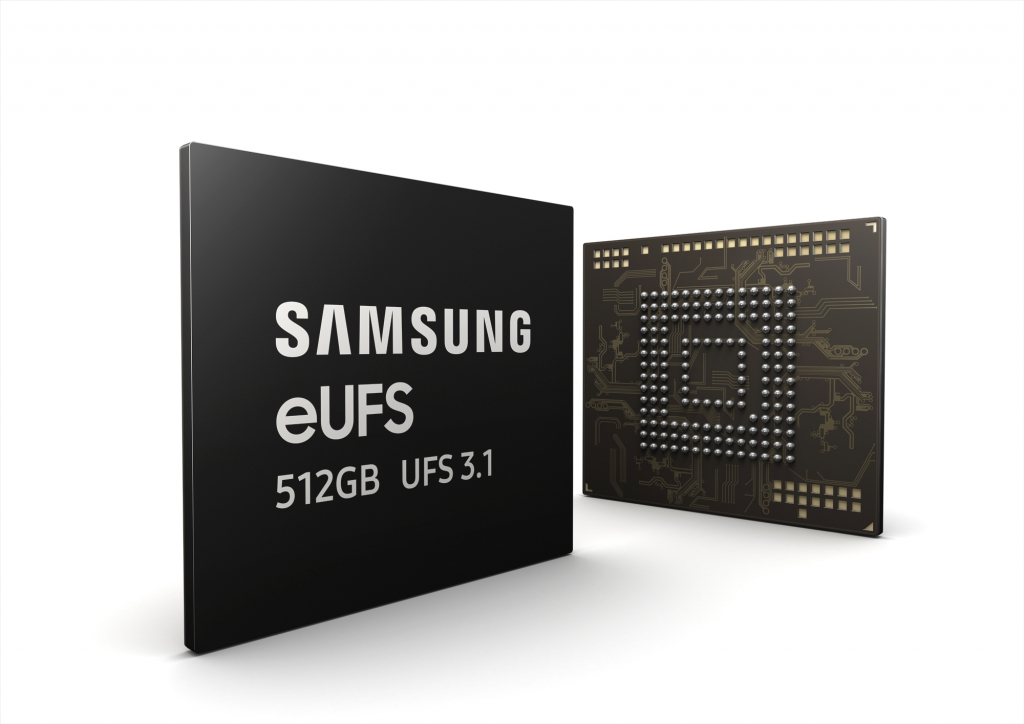 Samsung Begins Mass Production of the Fastest Storage for Flagship Smartphones