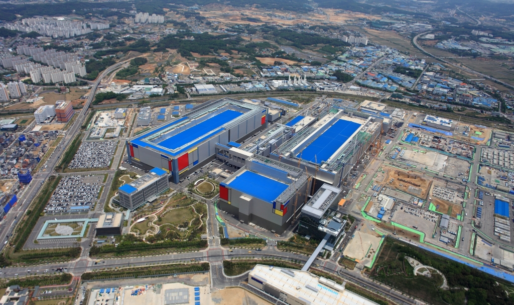 Samsung Electronics Expands its Foundry Capacity with A New Production Line in Pyeongtaek, Korea