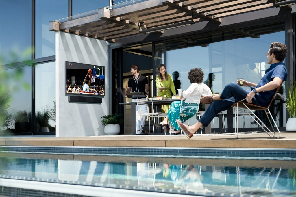 Samsung Takes the Home Entertainment Experience Outdoors with the Latest Lifestyle TV and Soundbar, The Terrace
