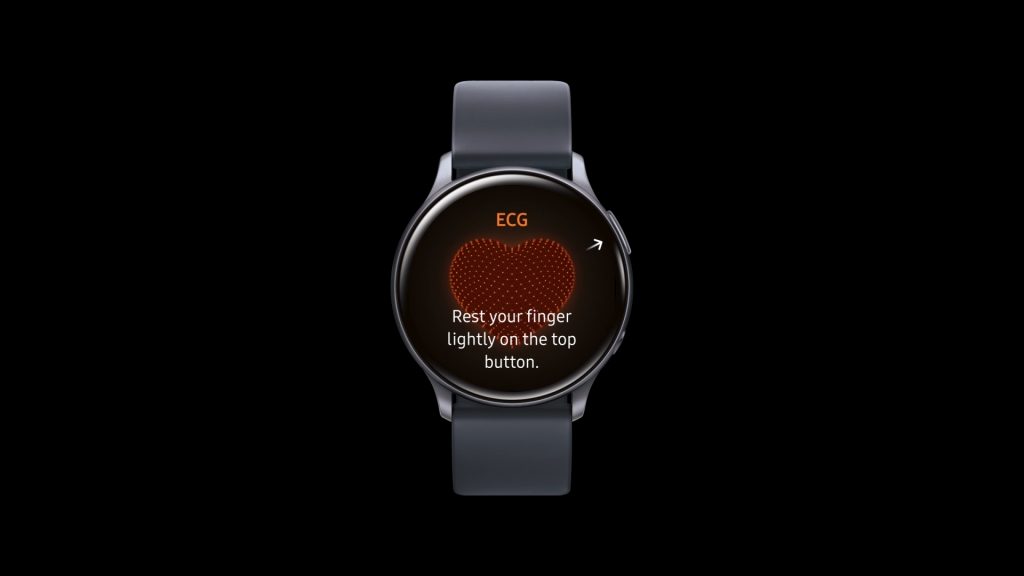 Electrocardiogram Monitoring Cleared for Galaxy Watch Active2 by South Korea's Ministry of Food and Drug Safety