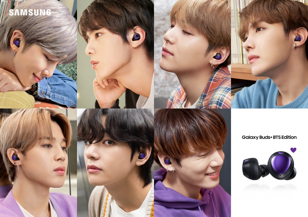 I Purple You: Introducing Samsung Galaxy S20+ 5G, S20+ and Galaxy Buds+ BTS Editions