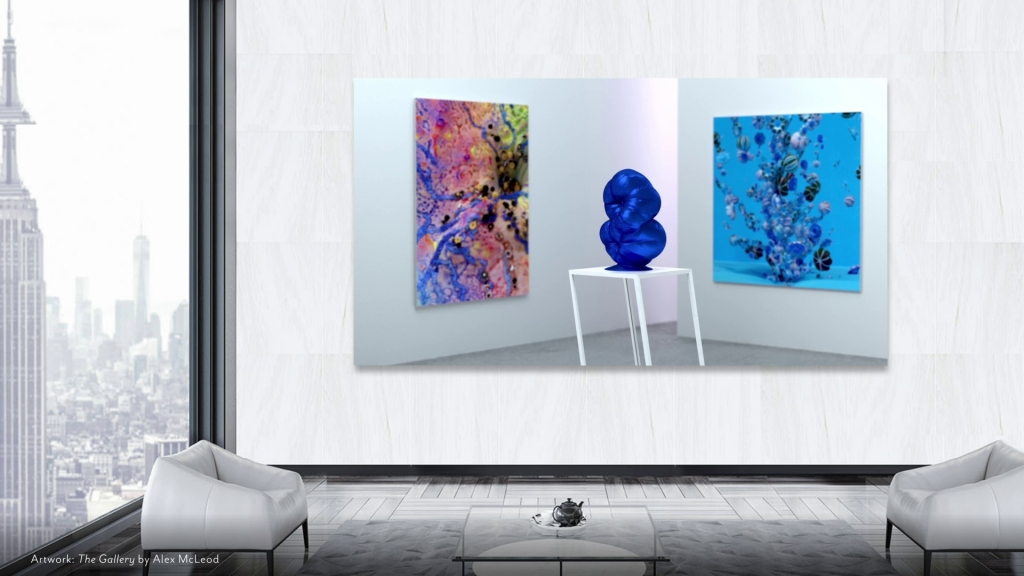 Samsung & Niio Art Unveil Winning Artwork to be Exhibited Globally on The Wall