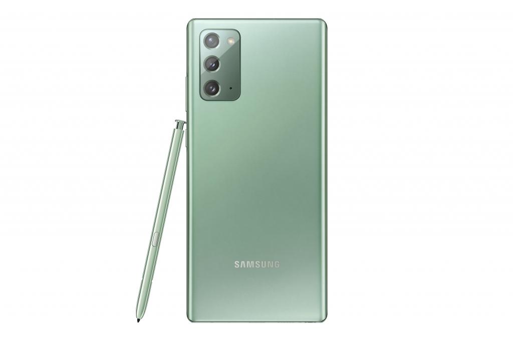 Galaxy Note20_Back_Mystic Green