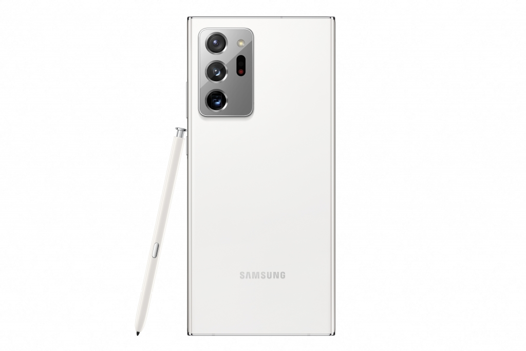 Galaxy Note20 Ultra_Back_Mystic White
