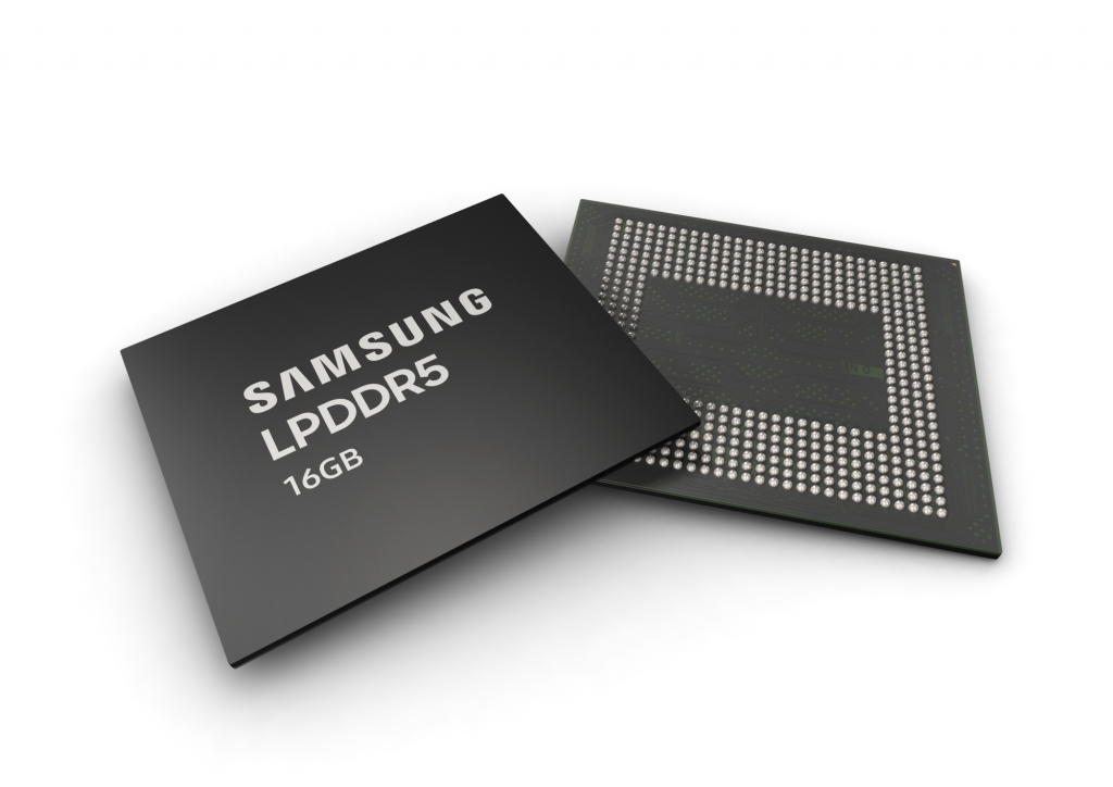 Samsung Begins Mass Production of 16Gb LPDDR5 DRAM at World's Largest Semiconductor Line
