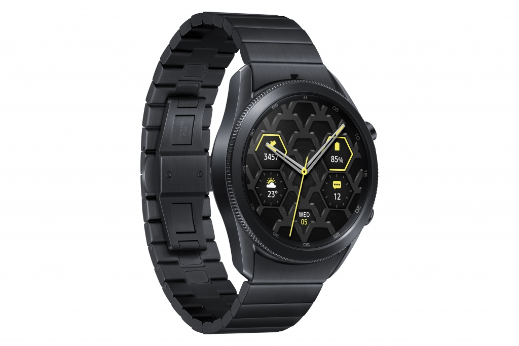 Samsung Launches Galaxy Watch3 Titanium Merging Luxury With Durability