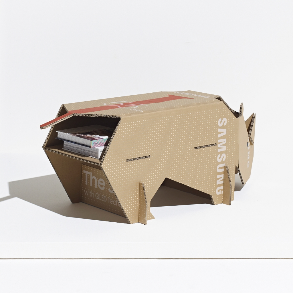Samsung and Dezeen Announce Best Eco-Packaging Design Winner of Out of the Box Competition
