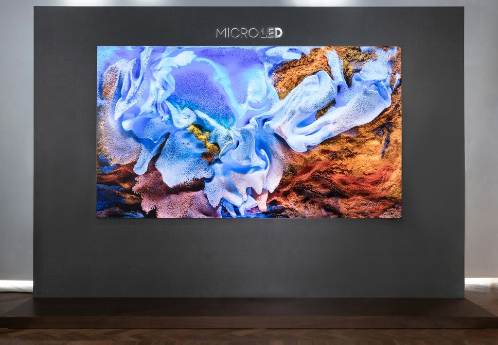 Samsung MicroLED Opens a New Era of Breathtaking Picture Quality and Design