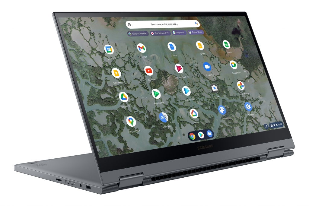 Premium Comes Standard with Galaxy Chromebook 2, World's First QLED Chromebook