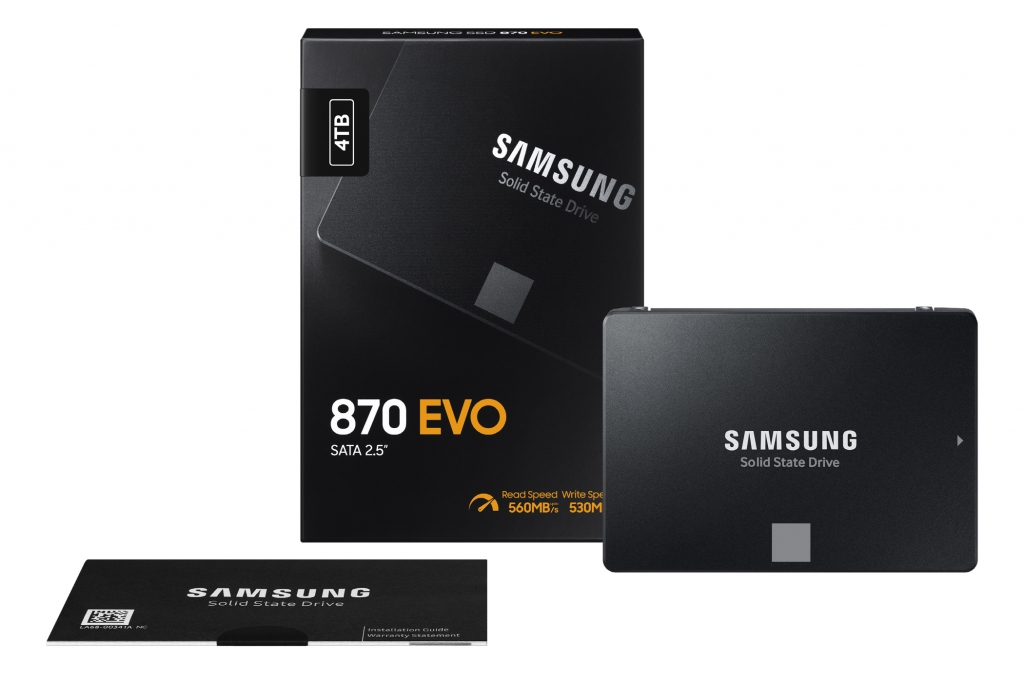 Samsung Introduces Latest in Its World's Best Selling Consumer SATA SSD Series, the 870 EVO