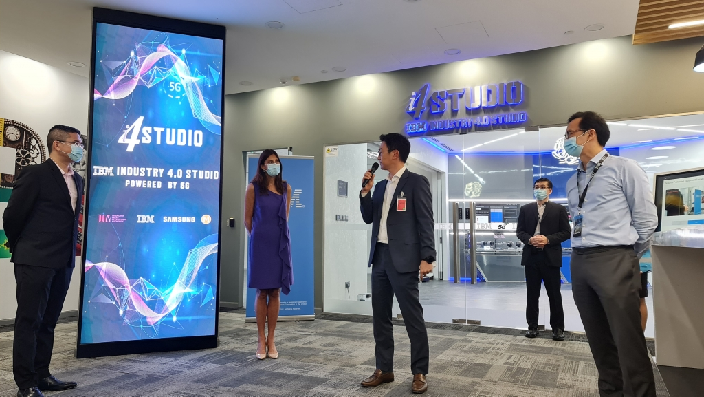 IBM, Samsung Electronics, and M1 Unveil Singapore's First 5G Industry 4.0 Studio, Supported by IMDA