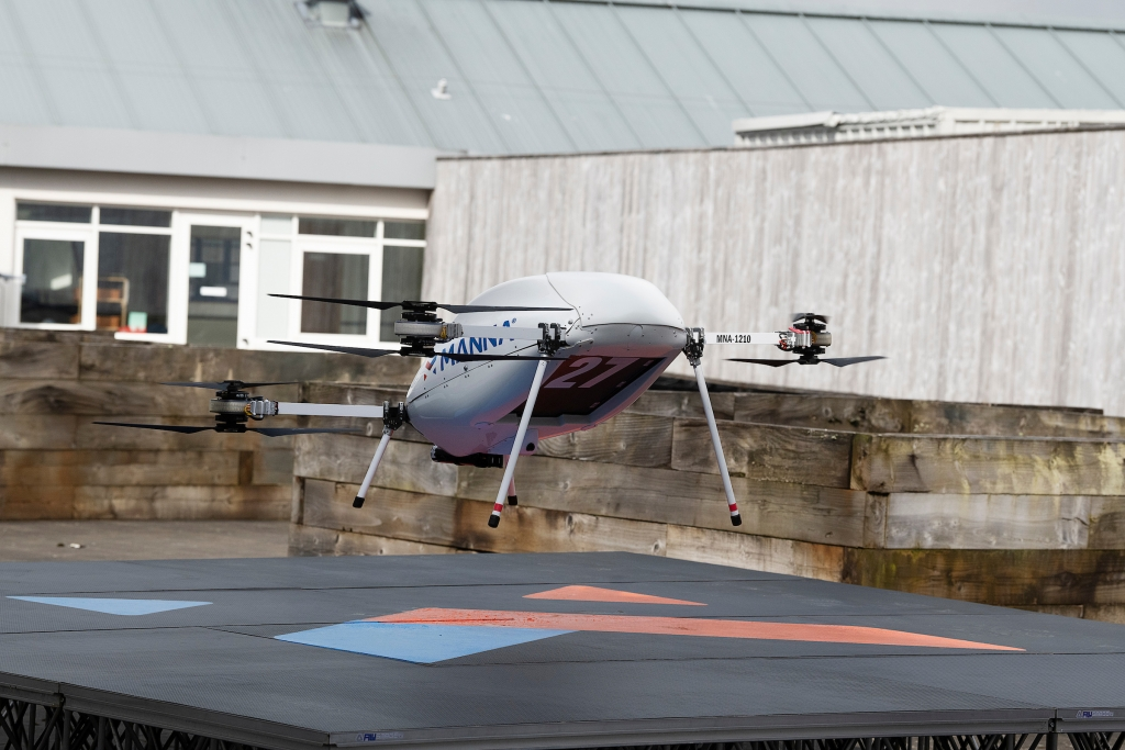 Samsung Partners With Manna To Launch Drone Delivery Service To Irish Customers
