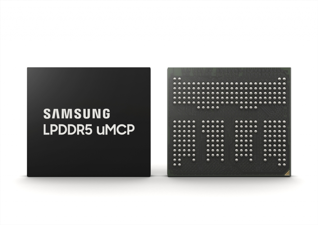 Samsung Brings Flagship Features to Broader Smartphone Market With LPDDR5 Multichip Package