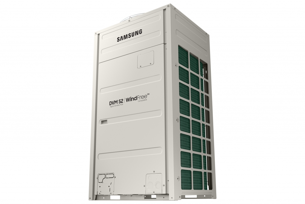 Samsung's New DVM S2 VRF Air Conditioner Delivers WindFree™ Cooling Everywhere
