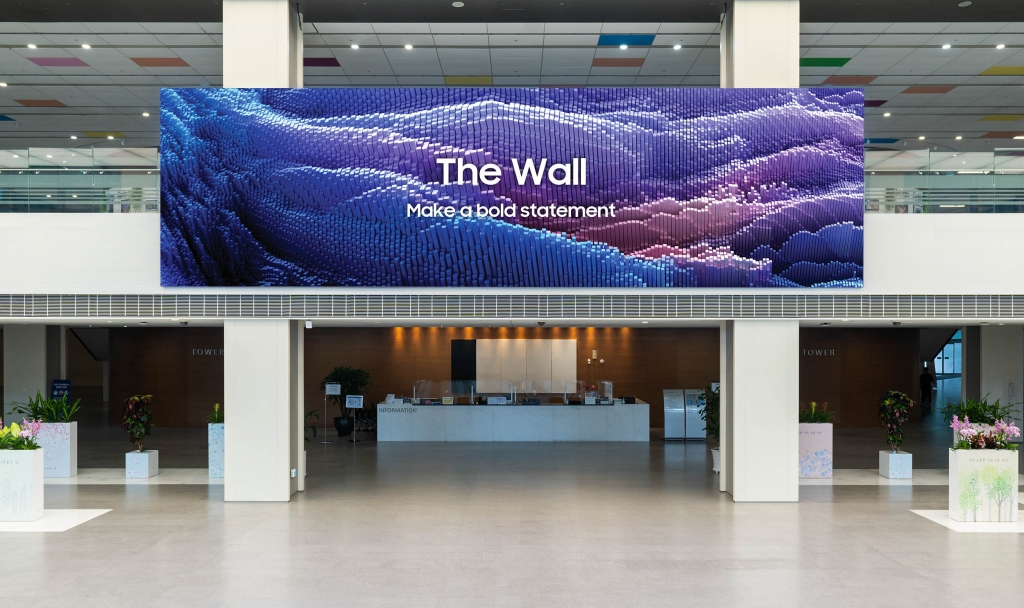 Samsung's 2021 The Wall Is Now Available Worldwide