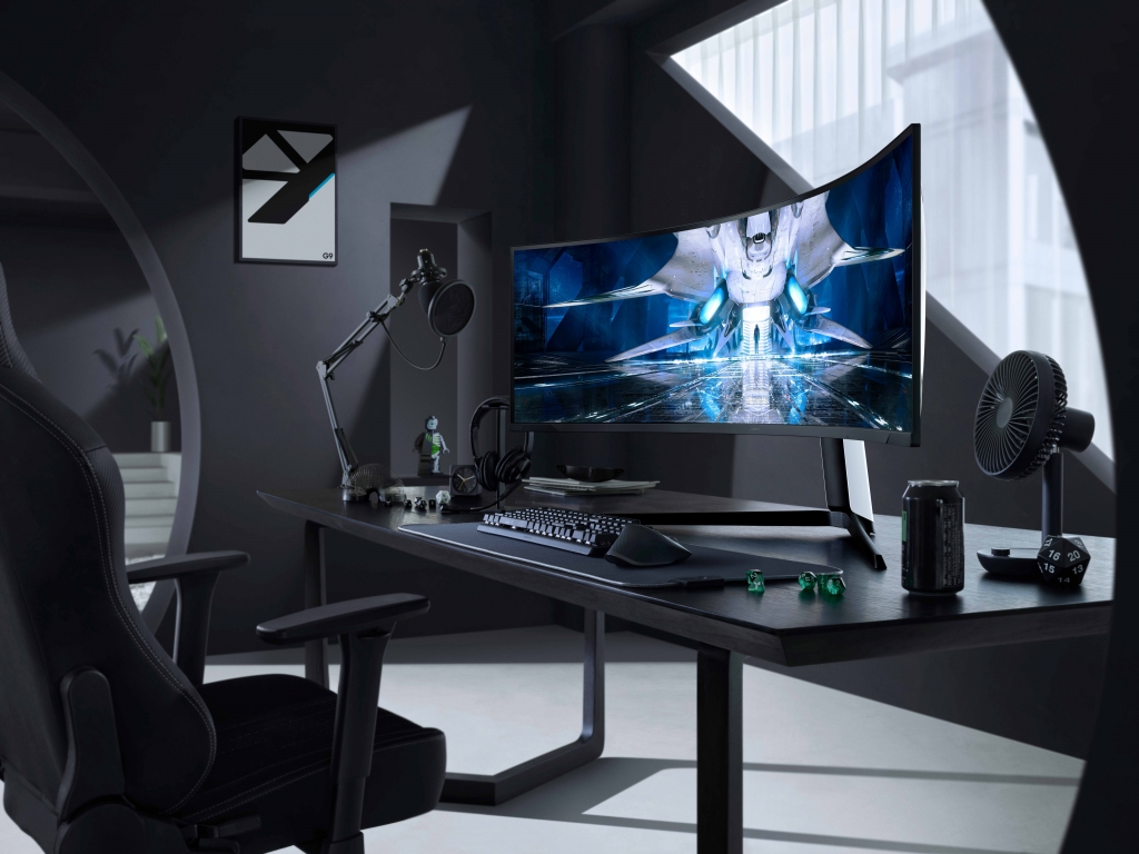 Samsung Unveils the Future of Gaming With the Odyssey Neo G9