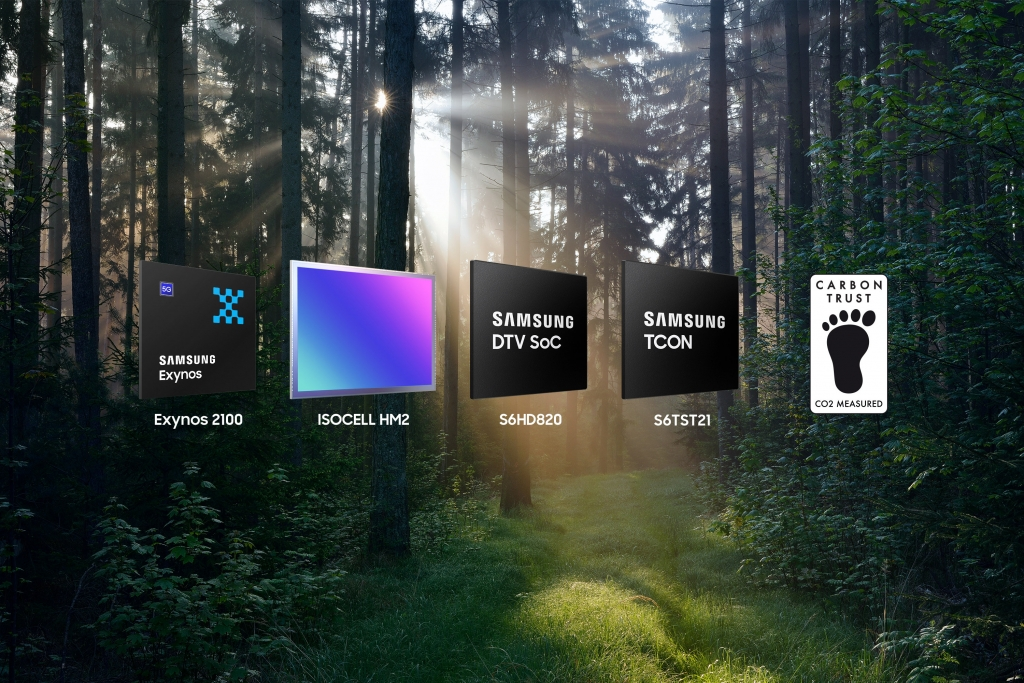 Samsung Receives Its First Global Carbon Footprint Certification for Logic Chips