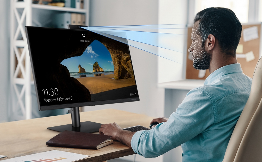 Samsung's New Webcam Monitor Is Now Available