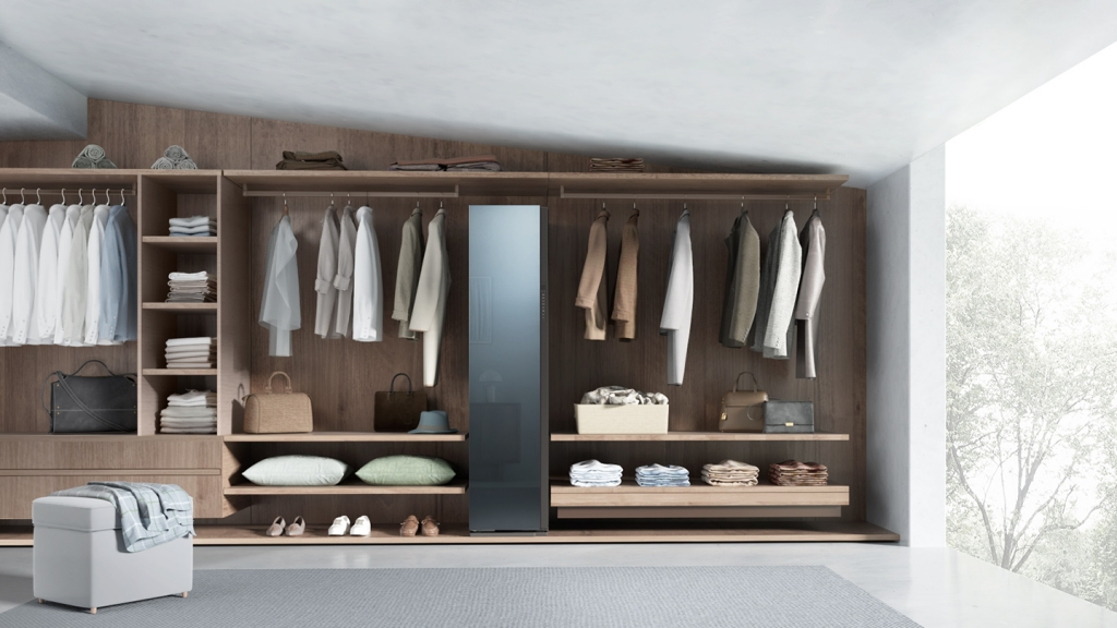 Bespoke AirDresser Brings Stylish Design and Intelligent Features to Samsung's Cutting-Edge Laundry Appliance