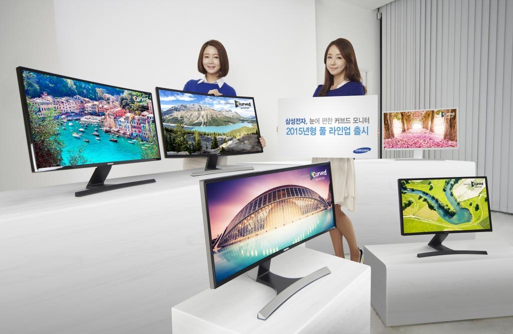 삼성전자, 시각적 편안함 극대화한 커브드 모니터 풀 라인업 출시
