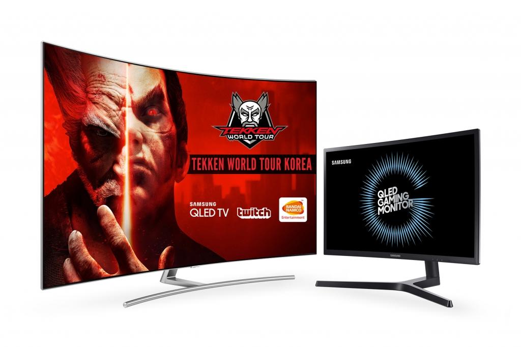 QLED TV∙QLED 게이밍 모니터로 철권 월드 투어서 궁극의 게임 경험 선사