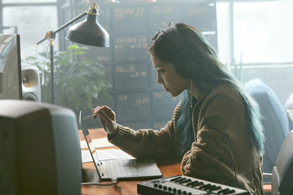 삼성전자, '삼성 노트북 Pen'으로 작사·작곡한 음원 발표