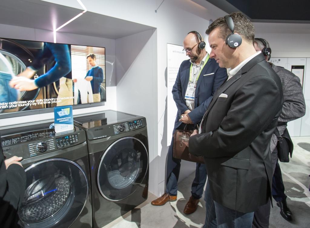 CES 2019 삼성전자 전시관