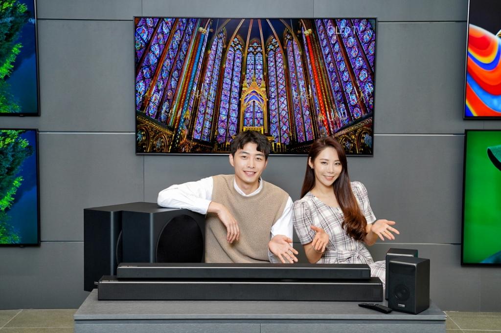 삼성전자, QLED TV 와 사용하면 더 좋은 'Q시리즈' 사운드바 출시