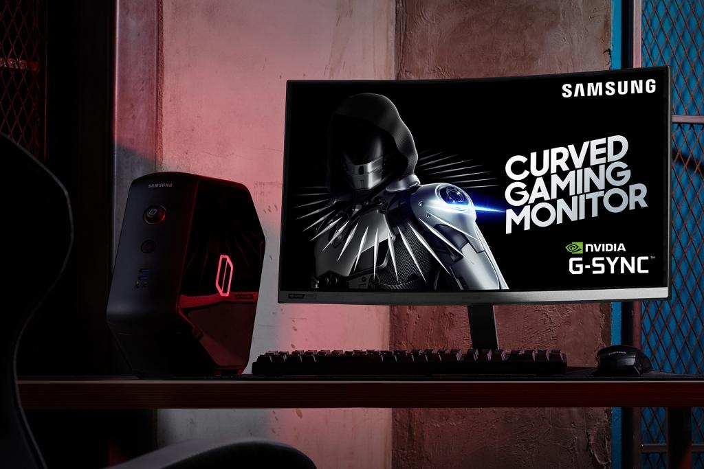 삼성전자, 지싱크 호환 커브드 게이밍 모니터 'CRG5' 국내 출시