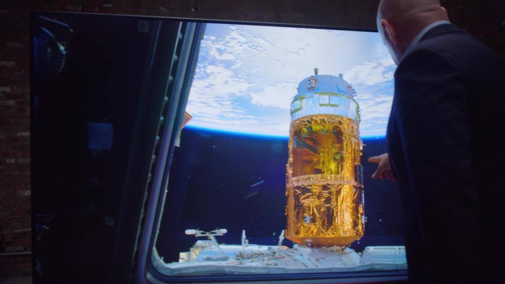 삼성전자, 달 착륙 50주년 맞아 NASA 영상을 QLED 8K에 담아