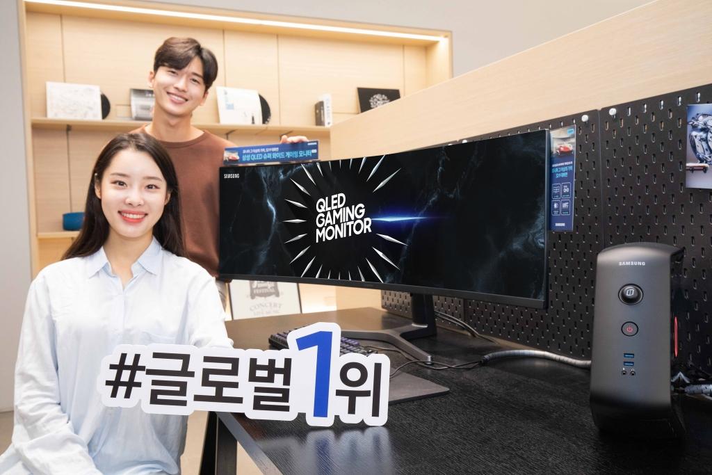 삼성전자, 게이밍 모니터 시장서 세계 1위 올라