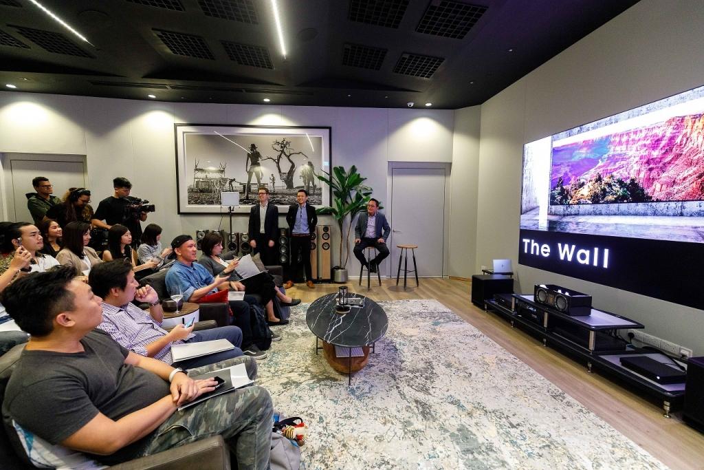 삼성전자, 싱가포르에 '더 월' 쇼룸 열고 동남아 시장 본격 공략