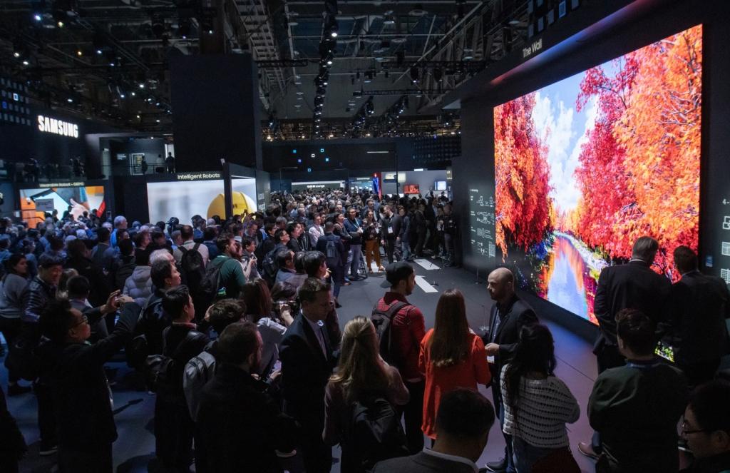 CES 2020 삼성전자 전시장 이모저모