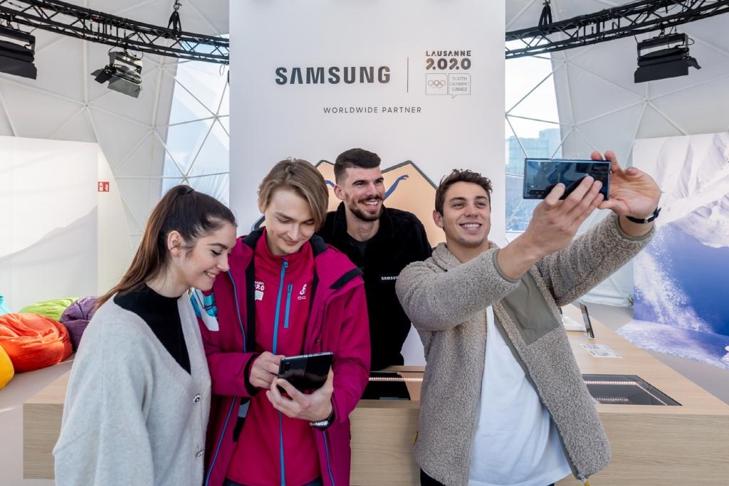 삼성전자, '2020 로잔 동계 유스 올림픽' 공식 파트너로 참여
