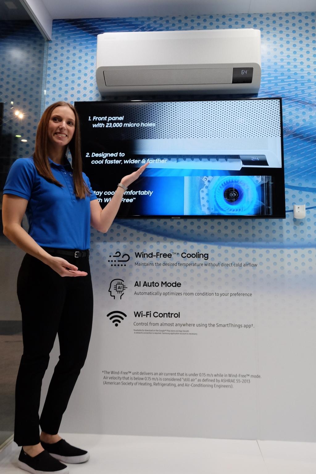 삼성전자, 2020 AHR 엑스포서 혁신 공조 솔루션 선보여