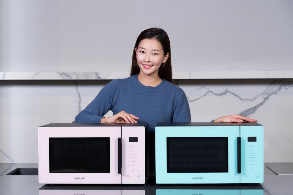 삼성전자,'비스포크' 색상 입은 전자레인지 신제품 출시