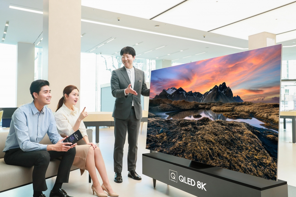 삼성 QLED TV, 시력 보호 '최고 안전 등급' 획득