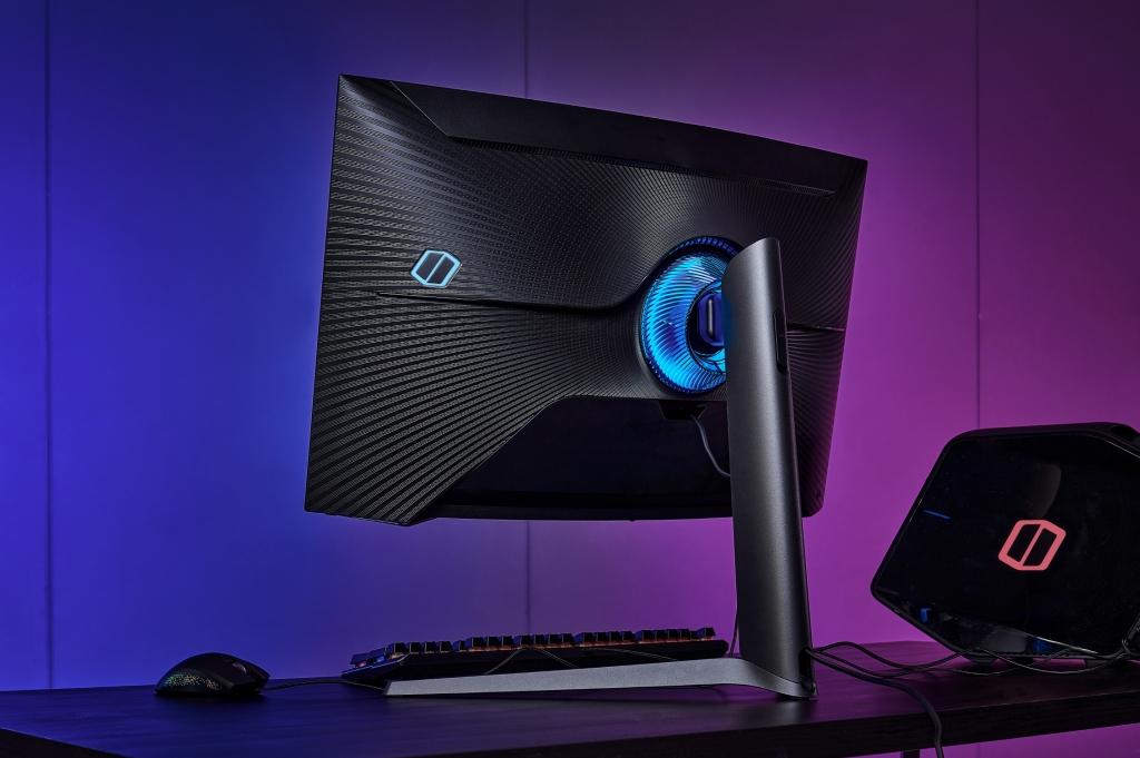 삼성전자, 업계 최초 1000R 곡률 게이밍 모니터 '오디세이 G7' 국내 출시