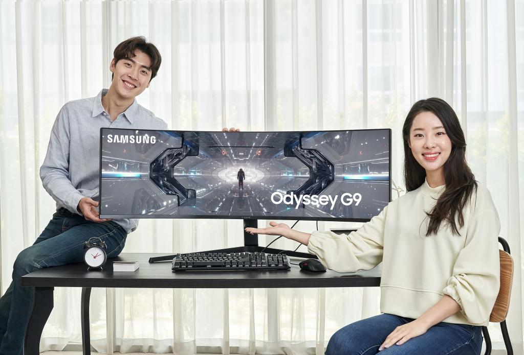 삼성전자, 역대 최고 성능 게이밍 모니터 '오디세이 G9' 국내 출시