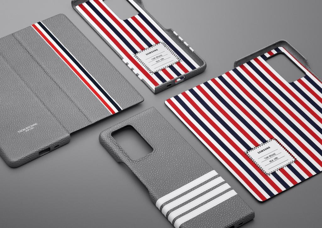 톰브라운 수트 입은 스마트폰… '갤럭시 Z 폴드2 톰브라운 에디션'