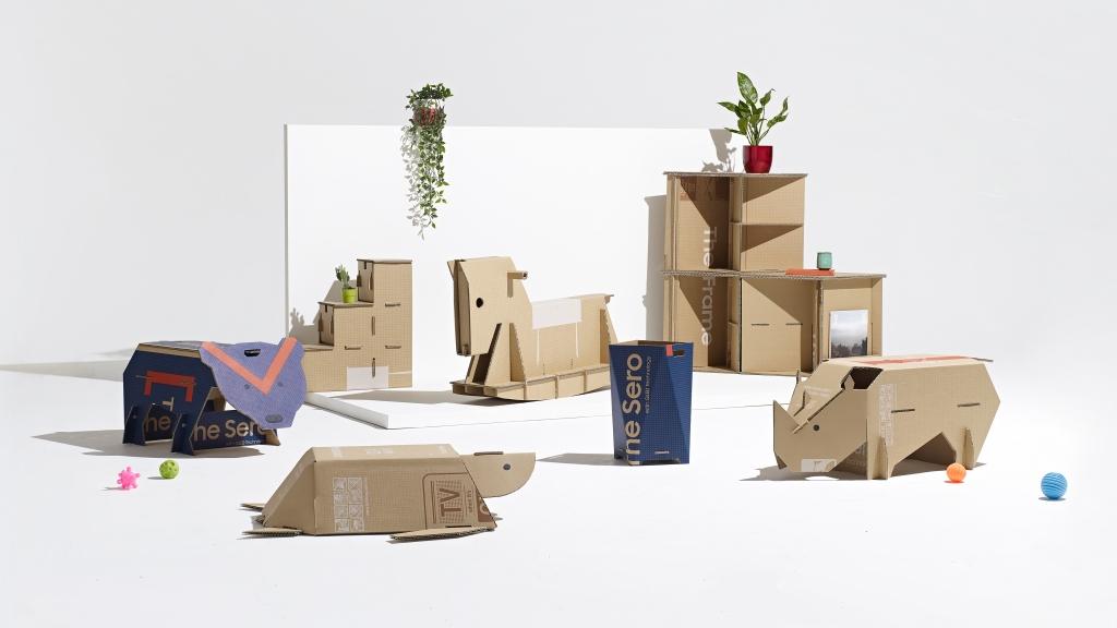 삼성전자, 에코 패키지 디자인 공모전 '아웃 오브 더 박스' 최종 우승작 발표