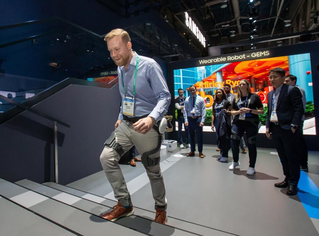 삼성전자, 웨어러블 보행 보조 로봇 'GEMS Hip' 국제 표준 'ISO 13482' 국내 최초 인증