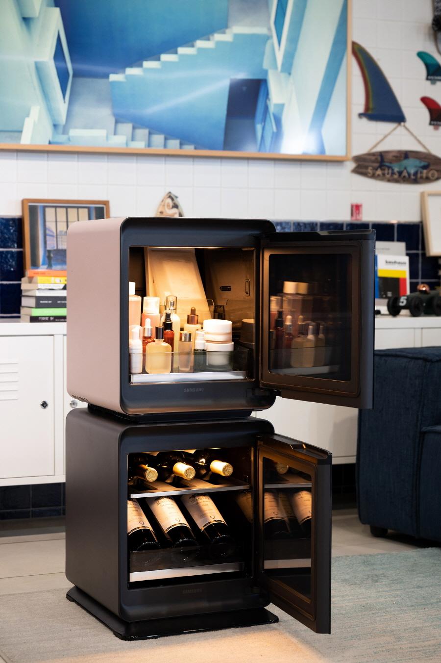 삼성전자, '비스포크 큐브' 냉장고 선보여