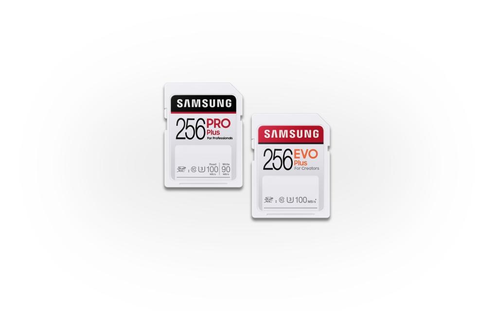 삼성전자, 크리에이터 시장 겨냥 SD카드 신제품 출시