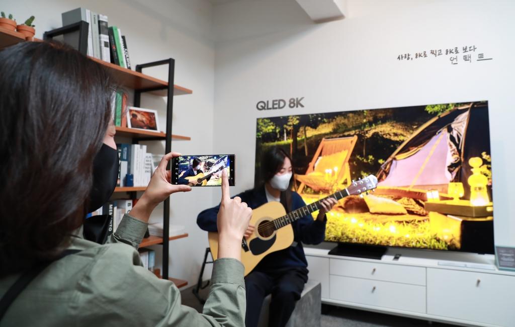 삼성전자, 8K로 찍고 8K로 보는 영화 '언택트' 공개