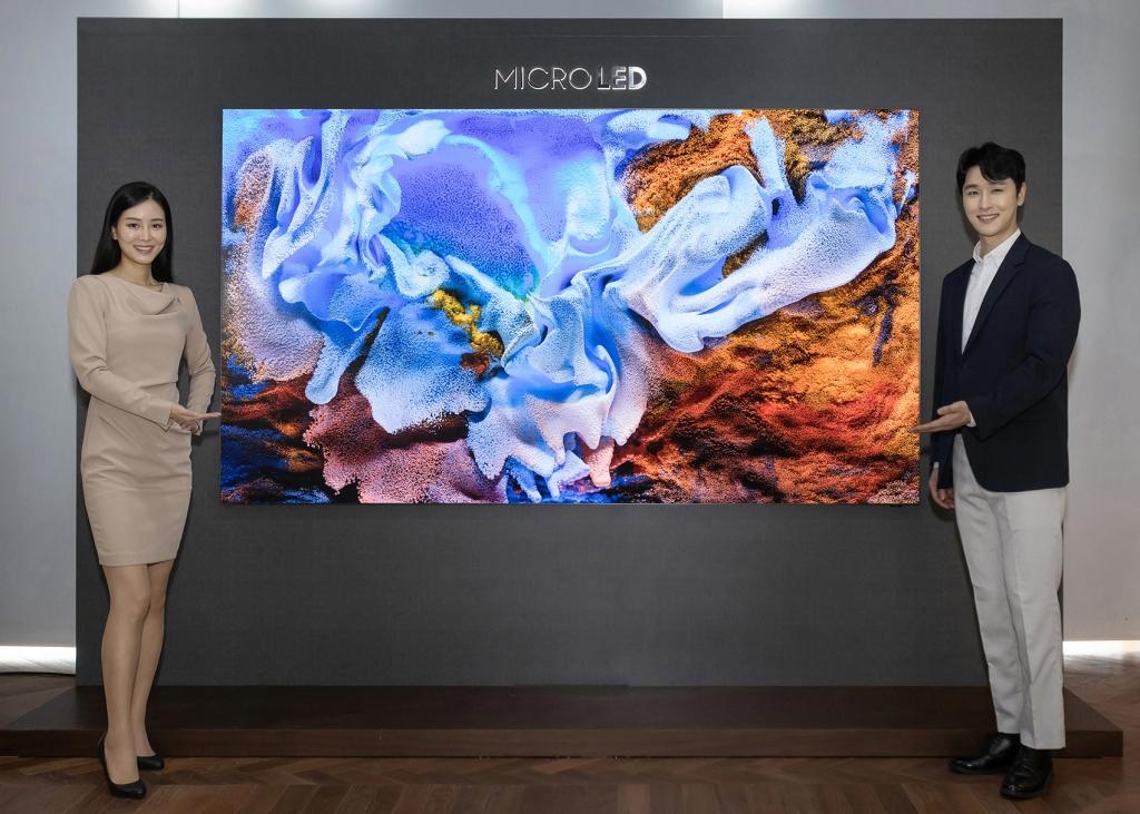 삼성전자, 마이크로 LED TV 전격 공개